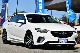 2018 Holden Commodore ZB MY19 RS Liftback White 9 Speed Sports Automatic Liftback.