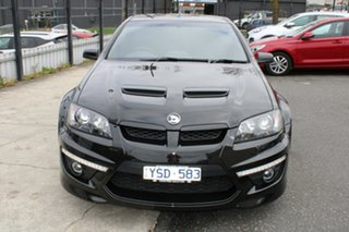 2011 Holden Special Vehicles Maloo E Series 3 R8 SV Black Edition Black 6 Speed Manual Utility.