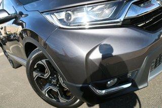 2017 Honda CR-V RW MY18 VTi-S FWD Modern Steel 1 Speed Constant Variable Wagon.