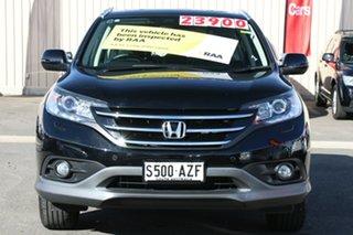 2013 Honda CR-V RM VTi-L 4WD Crystal Black 5 Speed Automatic Wagon