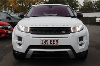 2012 Land Rover Range Rover Evoque L538 MY12 SD4 CommandShift Dynamic White 6 Speed Sports Automatic.