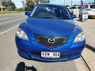 2005 Mazda 3 BK1031 SP23 Blue 4 Speed Sports Automatic Hatchback.