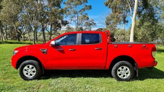 2014 Ford Ranger PX XLS Double Cab Red 6 Speed Manual Utility