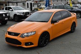2014 Ford Falcon FG MK2 XR6T Orange 6 Speed Auto Seq Sportshift Sedan.