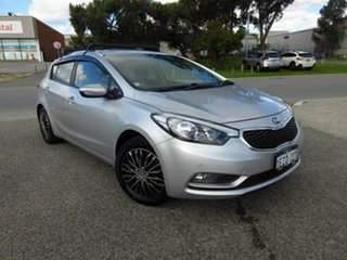 2016 Kia Cerato YD MY16 S Silver 6 Speed Automatic Hatchback.