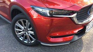 2021 Mazda CX-8 KG4W2A Asaki SKYACTIV-Drive i-ACTIV AWD LE Soul Red 6 Speed Sports Automatic Wagon.