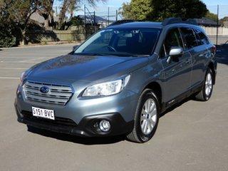 2017 Subaru Outback B6A MY17 2.0D CVT AWD Platinum Grey 7 Speed Constant Variable Wagon.