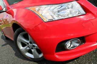 2012 Holden Cruze JH Series II MY12 SRi Red 6 Speed Sports Automatic Sedan.