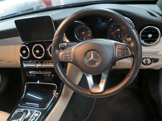2014 Mercedes-Benz C-Class W205 C200 7G-Tronic + Blue 7 Speed Sports Automatic Sedan