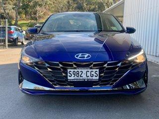2020 Hyundai i30 CN7.V1 MY21 Elite Blue 6 Speed Sports Automatic Sedan.