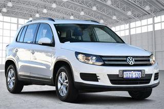 2012 Volkswagen Tiguan 5N MY13 118TSI 2WD White 6 Speed Manual Wagon.