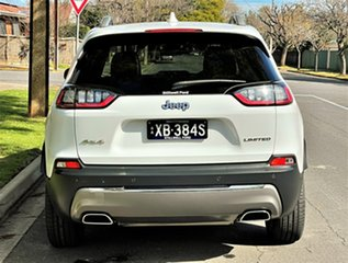 2018 Jeep Cherokee KL MY19 Limited White 9 Speed Sports Automatic Wagon