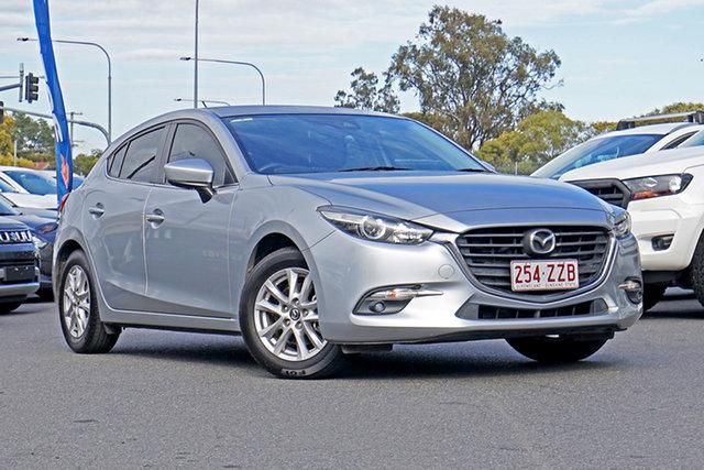 Used Mazda 3 BN5478 Maxx SKYACTIV-Drive Ebbw Vale, 2017 Mazda 3 BN5478 Maxx SKYACTIV-Drive Silver 6 Speed Sports Automatic Hatchback