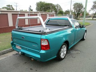 2009 Ford Falcon FG XR6 Ute Super Cab Green 4 Speed Sports Automatic Utility