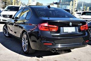2016 BMW 3 Series F30 LCI 330i Luxury Line Black 8 Speed Sports Automatic Sedan