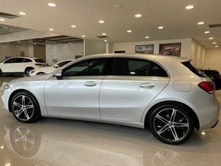 2018 Mercedes-Benz A-Class V177 A200 DCT Iridium Silver 7 Speed Sports Automatic Dual Clutch Sedan