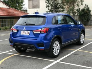 2020 Mitsubishi ASX XD MY20 ES 2WD Blue 1 Speed Constant Variable Wagon.