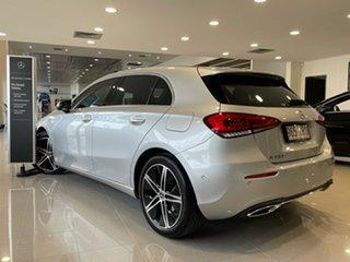 2018 Mercedes-Benz A-Class V177 A200 DCT Iridium Silver 7 Speed Sports Automatic Dual Clutch Sedan.