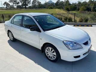 2006 Mitsubishi Lancer CH MY07 ES White 4 Speed Sports Automatic Sedan.