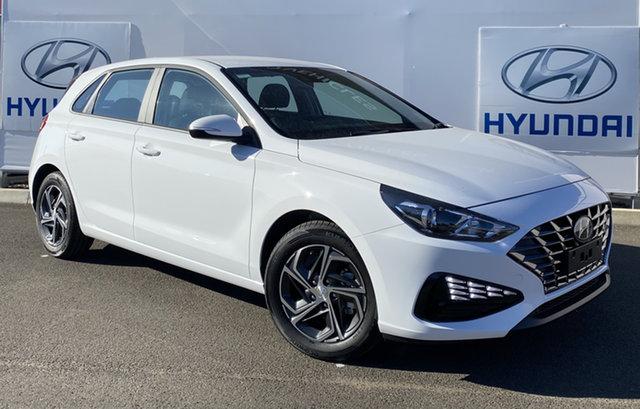 New Hyundai i30 PD.V4 MY21 Warwick, 2021 Hyundai i30 PD.V4 MY21 Polar White 6 Speed Manual Hatchback
