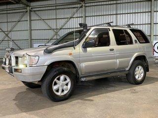 2001 Nissan Pathfinder WX II MY2002 TI Silver 4 Speed Automatic Wagon.
