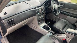 2006 Subaru Forester MY07 X Blue 5 Speed Manual Wagon