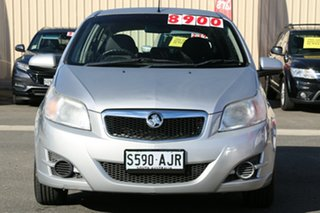 2010 Holden Barina TK MY10 Nitrate Silver 5 Speed Manual Hatchback