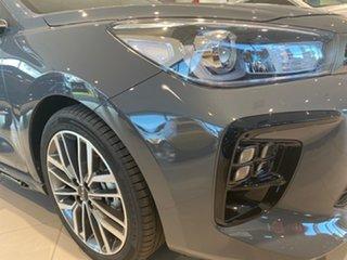 2021 Kia Rio YB MY22 GT-Line DCT Perennial Grey 7 Speed Sports Automatic Dual Clutch Hatchback.