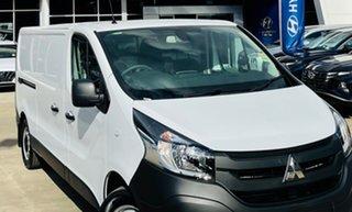 2021 Mitsubishi Express SN MY22 GLX+ LWB DCT White 6 Speed Sports Automatic Dual Clutch Van.
