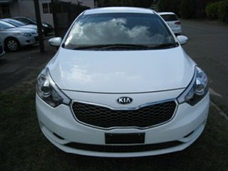 2016 Kia Cerato YD MY16 S White 6 Speed Automatic Hatchback.