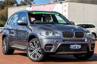 2013 BMW X5 E70 MY1112 xDrive30d Steptronic Grey 8 Speed Sports Automatic Wagon.