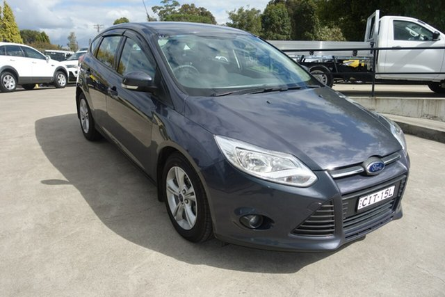 Used Ford Focus LW MkII Trend PwrShift East Maitland, 2012 Ford Focus LW MkII Trend PwrShift Grey 6 Speed Sports Automatic Dual Clutch Hatchback
