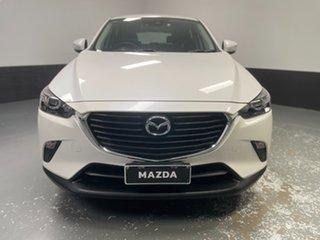 2018 Mazda CX-3 DK2W7A Neo SKYACTIV-Drive White 6 Speed Sports Automatic Wagon.
