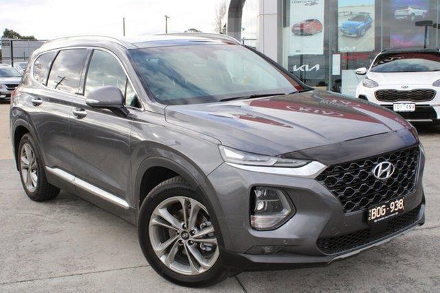 Used Hyundai Santa Fe TM MY19 Highlander Ferntree Gully, 2018 Hyundai Santa Fe TM MY19 Highlander Grey 8 Speed Sports Automatic Wagon