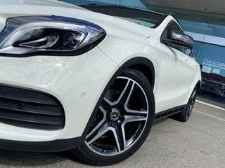 2017 Mercedes-Benz GLA250 4Matic X156 MY18 Cirrus White 7 Speed Auto Dual Clutch Wagon.
