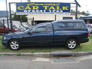 2002 Ford Falcon BA XLS Blue 4 Speed Auto Seq Sportshift Utility.