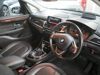 2014 BMW 2 Series F45 218i Active Tourer Steptronic Sport Line Platinum Silver 6 Speed Automatic