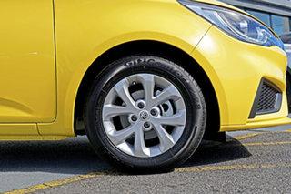 2021 MG MG3 SZP1 MY21 Core Yellow 4 Speed Automatic Hatchback