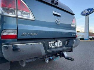 2013 Mazda BT-50 GT Blue Sports Automatic Dual Cab Utility