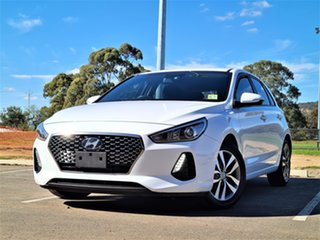 2018 Hyundai i30 PD MY18 Active White 6 Speed Sports Automatic Hatchback