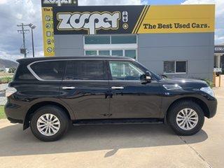 2017 Nissan Patrol Y62 Series 3 TI Black 7 Speed Sports Automatic Wagon.