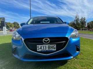 2015 Mazda 2 DJ2HAA Maxx SKYACTIV-Drive Blue 6 Speed Sports Automatic Hatchback.