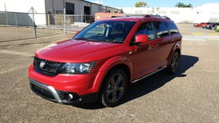 2015 Fiat Freemont JF MY15 Crossroad Red 6 Speed Automatic Wagon