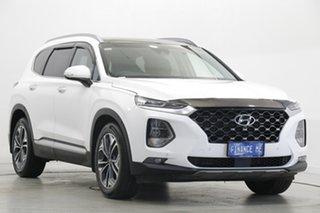 2020 Hyundai Santa Fe TM.2 MY20 Highlander White 8 Speed Sports Automatic Wagon