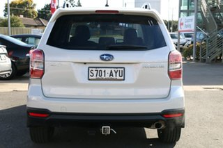 2013 Subaru Forester S4 MY13 2.5i-S Lineartronic AWD Satin White 6 Speed Constant Variable Wagon
