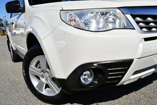 2012 Subaru Forester S3 MY12 X AWD Luxury Edition Satin White 4 Speed Sports Automatic Wagon.
