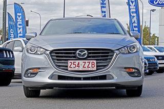 2017 Mazda 3 BN5478 Maxx SKYACTIV-Drive Silver 6 Speed Sports Automatic Hatchback.
