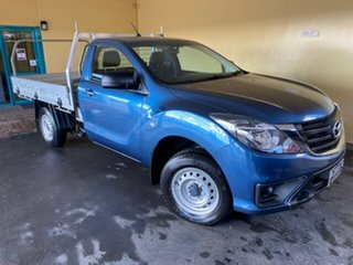 2019 Mazda BT-50 XT (4x2) (5Yr) Blue 6 Speed Manual Cab Chassis.