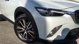 2016 Mazda CX-3 DK2W76 sTouring SKYACTIV-MT White 6 Speed Manual Wagon.