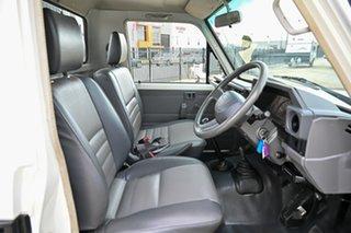 2006 Toyota Landcruiser HZJ79R White 5 Speed Manual Cab Chassis